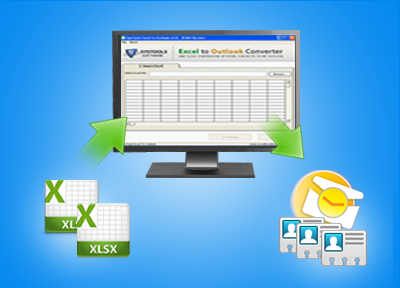 convert xls and xlsx to outlook